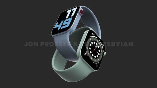 Apple Watch Series 7: novas imagens reforçam design inspirado no iPhone 12