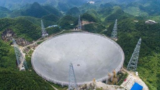 China começa a usar o maior observatório do mundo para procurar extraterrestres