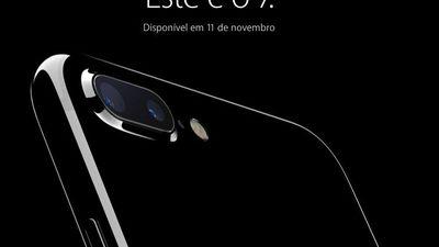 Confirmado: iPhone 7 chega às lojas brasileiras em 11 de novembro
