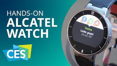 Alcatel Watch: preço, qualidade e compatibilidade com Android e iOS [Hands-on |