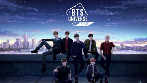 Em BTS Universe Story, você é quem faz a história