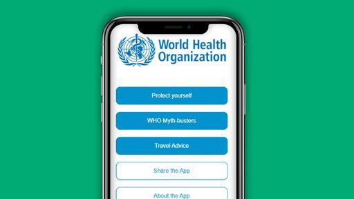 OMS prepara app de dicas contra COVID-19 para Android e iOS