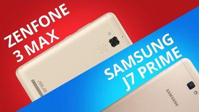 Asus Zenfone 3 Max vs Samsung J7 Prime [Comparativo]
