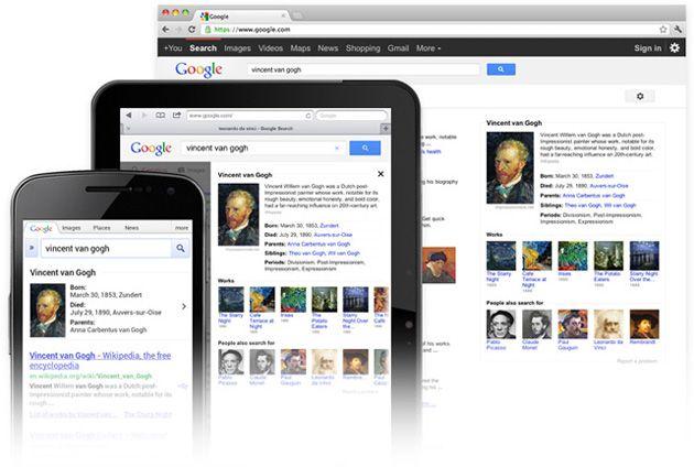 Novo sistema de buscas Google