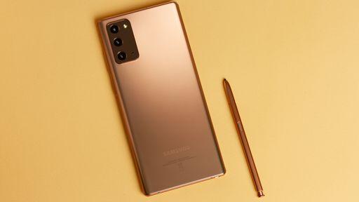 Linha Galaxy Note 20 recebe atualização de maio com melhorias nas câmeras