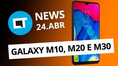 Galaxy M a partir de R$ 899; Meizu 16s com Snapdragon 855 e + [CT News]