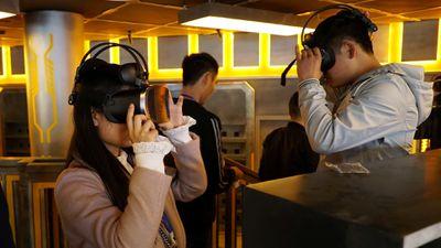 China inaugura parque temático especializado em realidade virtual
