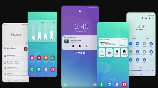 One UI 4.0 vaza e revela design Material You em celulares Samsung