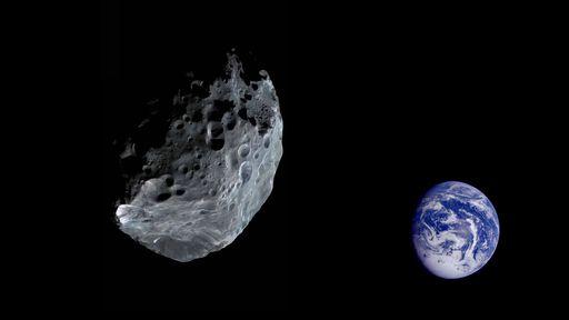Um asteroide foi detectado 15 horas após passar a 400 km de distância de nós