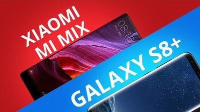 Samsung Galaxy S8+ vs Xiaomi Mi Mix [Comparativo]