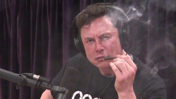Resultado de imagem para Elon Musk fuma maconha em programa ao vivo e executivos da Tesla pedem demissão