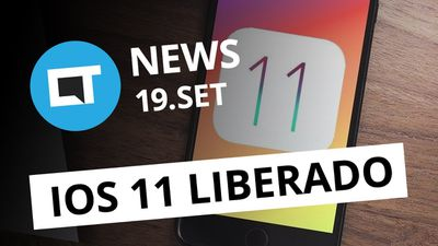 iOS 11 para todos; Galaxy S9 fará vídeos a 1000 fps; LG Q6 e Q6+ no BR [CT News]