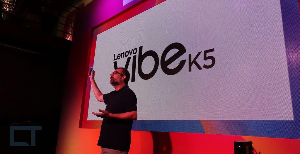 Lenovo K5 chega oficialmente ao Brasil