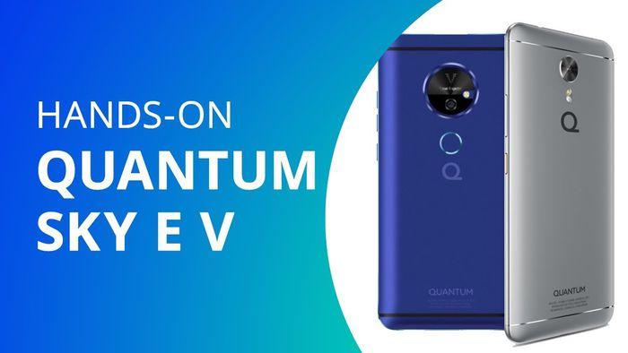 Quantum V  smartphone com projetor laser  Hands-on   Lançamento  - Vídeos -  Canaltech f5fe711c1c