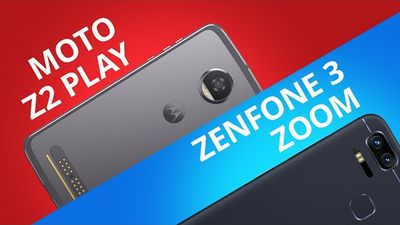 Moto Z2 Play vs Zenfone 3 Zoom [Comparativo]