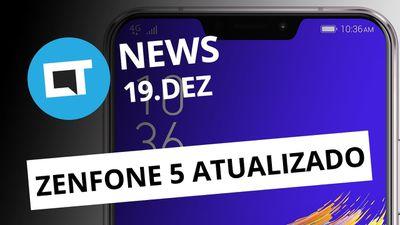 Android Pie para Zenfone 5; Sacar dinheiro pelo WhatsApp e + [CT News]
