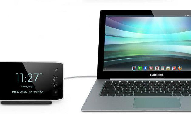ClamBook Laptop Dock