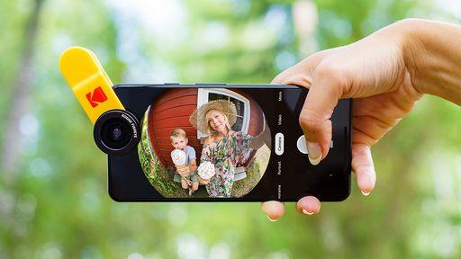 Kodak vai lançar kit de fotografia para smartphones, com lentes e acessórios