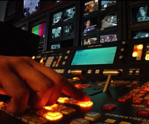 Switcher transmissão TV
