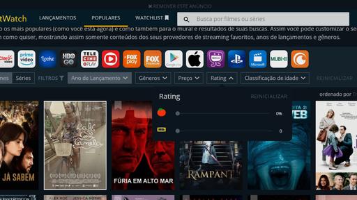 Como usar o JustWatch para encontrar onde assistir filmes e séries