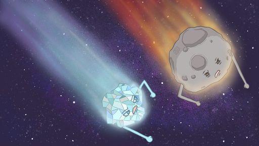 Qual a diferença entre meteoro, meteorito, meteoroide, asteroide e cometa?