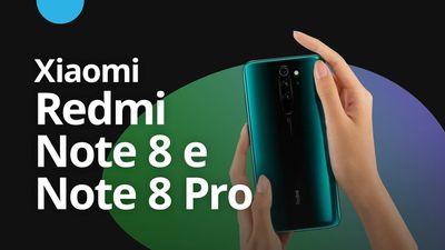 Redmi Note 8 e Note 8 Pro estão chegando [CT News]