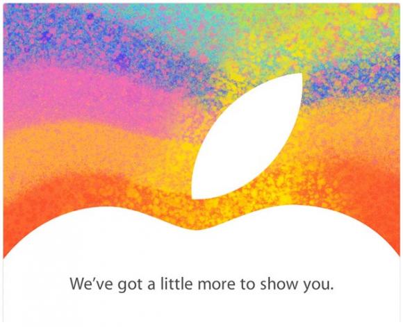Convite evento iPad mini