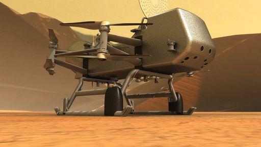 Esses são os objetivos científicos da missão Dragonfly, que estudará a lua Titã