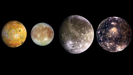 Efeito de maré pode estar aquecendo o interior de algumas luas de Júpiter
