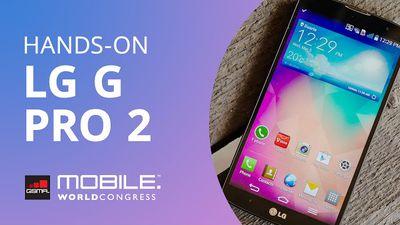 LG G Pro 2, com câmera 4K e função KnockCode para desbloqueio [Hands-on | MWC 2015]