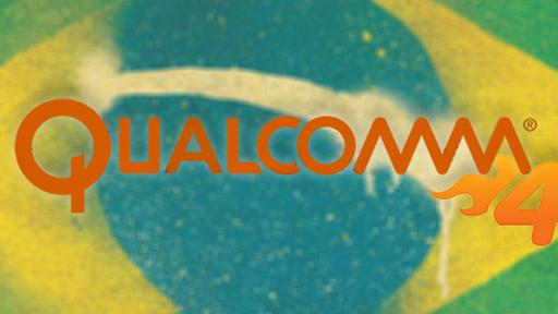 Qualcomm irá desenvolver tecnologias para as bandas 4G no Brasil