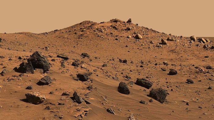 Cientistas descobrem como fazer concreto em Marte