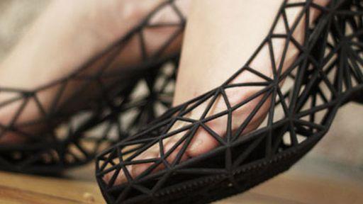Conheça os sapatos feitos em uma impressora 3D