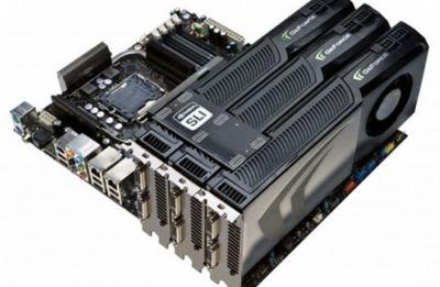 Computação pararela com SLI triplo de Nvidias GTX 260