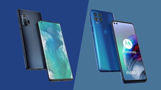 Moto G100 vs Edge Plus: um duelo de poderosos da Motorola