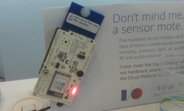 Sensores Google I/O