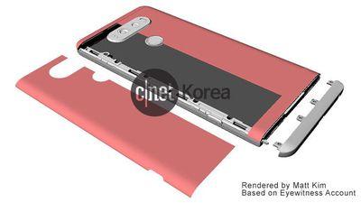 LG V20 pode ter uma maneira estranha de substituir a bateria