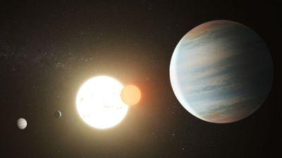 Descoberto terceiro exoplaneta no sistema estelar binário Kepler-47