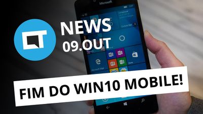 Fim do Windows 10 Mobile; SNES Classic Mini hackeado e+ [CT News]