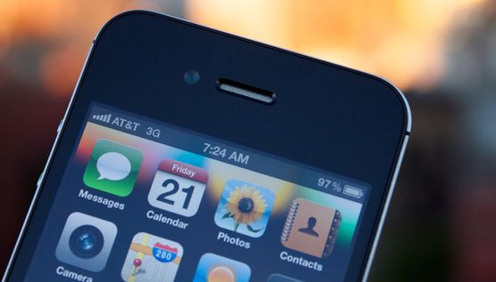 iPhone 5 novo display