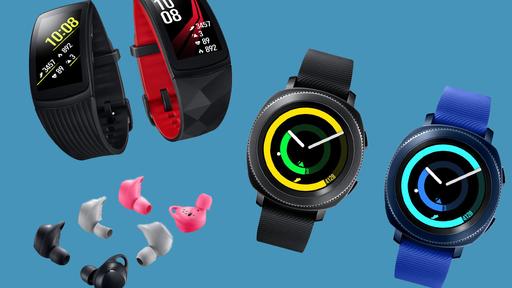 Samsung anuncia smartwatch Gear Sport com pulseira Gear Fit2 Pro e fones sem fio