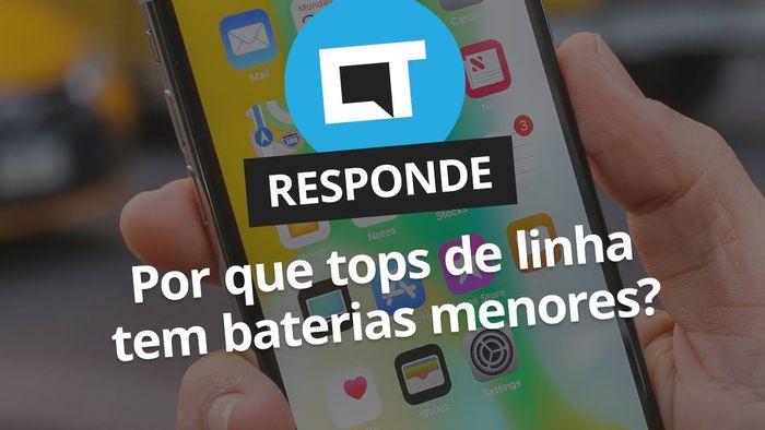 e34a0c19092c8 Por que smartphones top de linha têm baterias menores   CT Responde  -  Vídeos - Canaltech