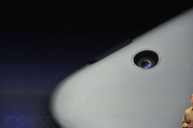 Câmera do Novo iPad