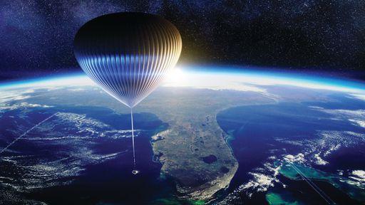 Balão que levará turistas ao espaço é testado e venda de ingressos começa
