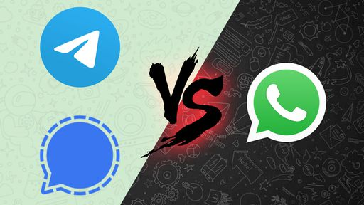 Telegram e Signal superam WhatsApp na lista dos mais baixados também no Brasil