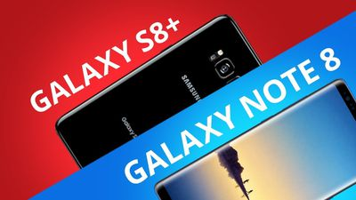 Galaxy Note 8 vs Galaxy S8+ [Comparativo]