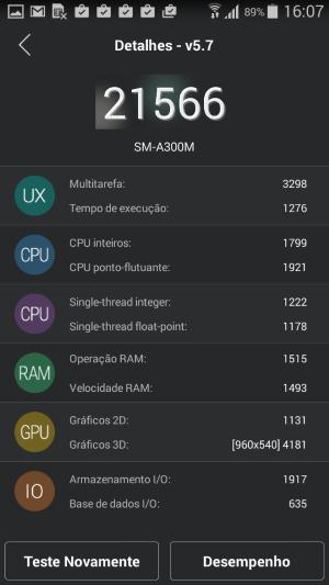 Samsung Galaxy A3 - Screenshots