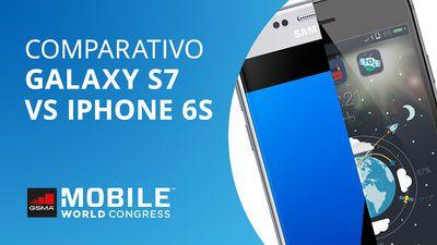 Galaxy S7 VS iPhone 6s [Comparativo | MWC 2016]