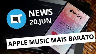 Apple Music com desconto; tela infinita iPhone 8; golpe Uber e + [CT News]