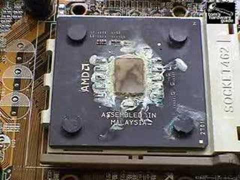 Processador queimado